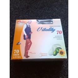 TĚHOTENSKÉ podpůrné punčochové kalhoty 70DEN
