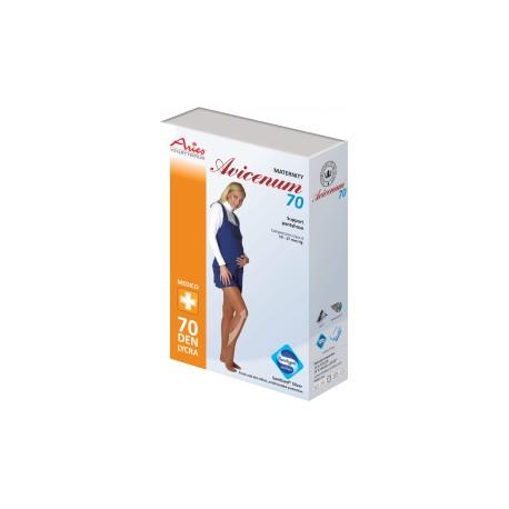 TĚHOTENSKÉ podpůrné punčochové kalhoty Avicenum 70DEN
