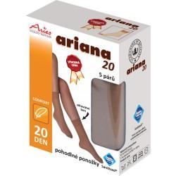Ponožky antibakteriální 5 párů v balení !AKČNÍ CENA! 20DEN